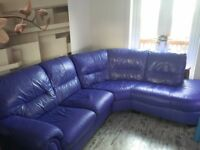 Corner sofa ex DFS