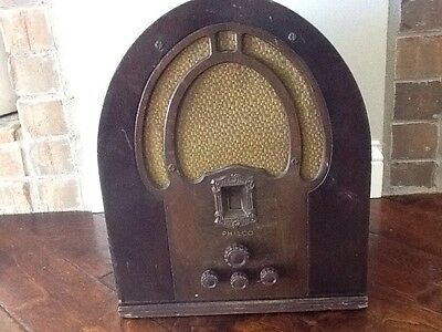 1930's Philco Table Radio Model 89 And Series 19