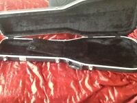 Bass guitar hard case