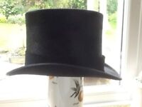 Herbert Johnson silk top hat