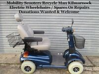 Mobility Scooter Recycle Man East Ayrshire