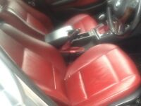 Bmw E46 touring red leather interior