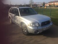subaru forester x all weather 55 reg engine knocking