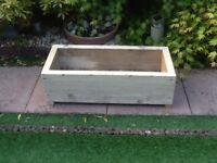 Garden plant boxes