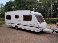 2005 Swift Lifestyle 500 4 berth caravan FIXED BED, Awning, VGC BARGAIN !