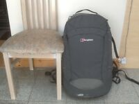 Berghaus Jalan 60 Biofit rucksack-used but with no damage just some dirt marks -opens sideways-£45