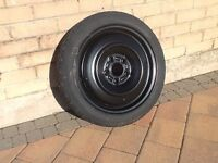 Space saver wheel and tyre .brand new.bought for 2014 Mazda 3