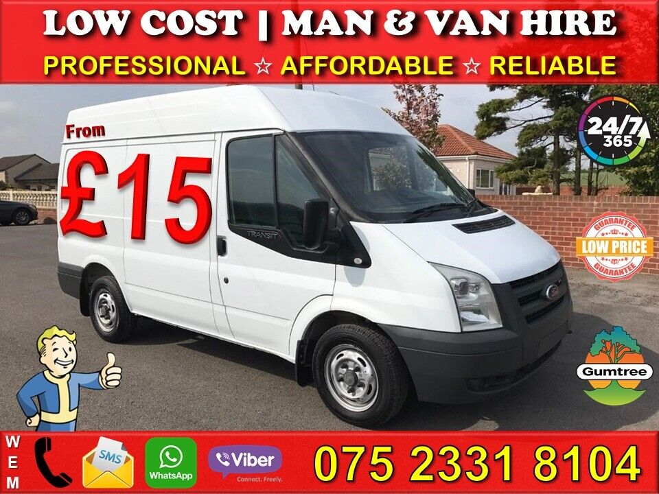 ee07eb7a478658 🚚CHEAP MAN   VAN HIRE📱+7 YEARS ON GUMTREE🏅HOUSE OFFICE REMOVALS ...