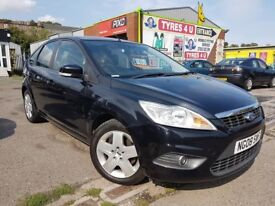 **3 MONTHS WARRANTY** FORD FOCUS STYLE 100 1.6 (2008) - 5 DOOR - LOW MILES - LONG MOT - HPI CLEAR!