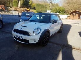 MINI Hatch 1.6 Cooper S 3dr Perfect condition 1 Owner! WARRANTY, CARD PAYMENTS, CAR4YOU DRIVE AWAY