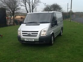Silver ford transit 125 t280 trend 61 2011