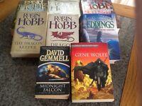 Hundred plus books for sale. Hardback and paperback