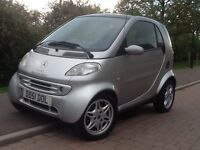 SMART MERCEDES FORTWO PASSION ~ Service History,Low Miles,Air Con,Alloy Wheels