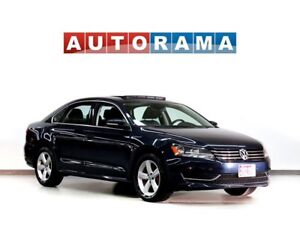 2015 Volkswagen Passat BACKUP CAM LEATHER SUNROOF ALLOY WHEELS