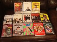DVD's all comedy titles