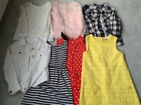 Girls clothes age 7-9