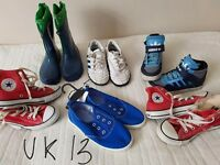 Kids shoes difference sizes