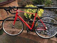 Giant Defy 3 Road Bike with upgraded wheels - Mavic Ksyrium Equipe REDUCED PRICE