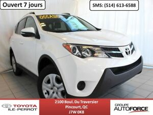 2015 Toyota RAV4 AWD LE UPGRADE, A/C, CAM RECUL, BLUETOOTH ONLY