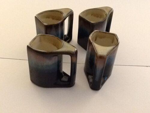 Rodolpho Padilla Drip Glaze Mugs Set Of 4