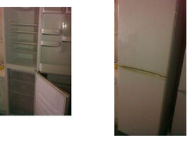 BEKO FRIDGE FREEZER 72 INCHES HIGH (182.8cms) x 23.5 WIDE (59cms) CAN BE SEEN WORKING PLZ RING ONLY