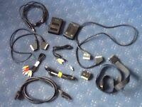 12 TV/Video Cables & Bits