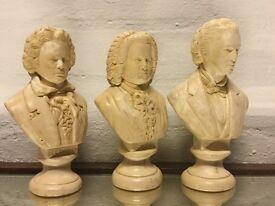 Antique Ceramic Busts