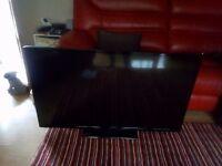 Hitachi 50 inch LED flat screen smart TV