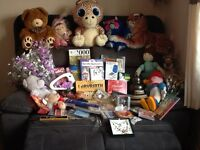 Fundraisers mixed lot over 100 items for tombola/ raffle or resale