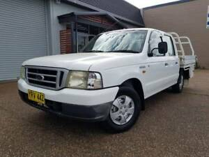 2003 Ford Courier PG GL CREW CAB 2.6L 4 CYL Utility-STEEL TRAY