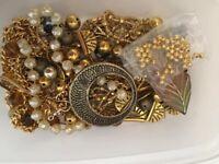 Beads, findings, fimo charms bundle