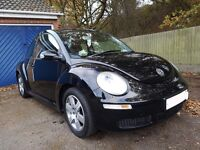 Need sold ASAP!! VW Black Beetle 2006, Long MOT, Low mileage 72,000 miles, new parts, 1.6 Petrol