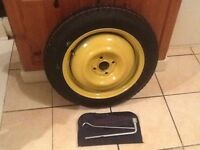 """16"""" space saver brand new wheel and tyre( Dunlop )"""