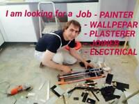 HANDYMAN . I am looking for a job