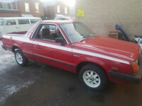 subaru brat mv pickup 1990 genuine 74k no welding completeley orginal
