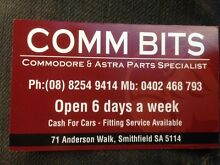 COMMODORE PARTS COMMODORE PARTS VN VP VR VS VT VX VY VZ VE Smithfield Plains Playford Area Preview