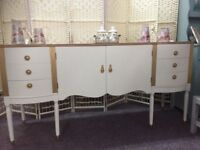 UPCYCLED SOLID SIDEBOARD/TV UNIT