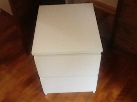 Brand new White Ikea Malm drawer. Built but not needed