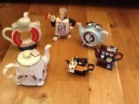 Cardew Teapots and a Royal Albert Teapot