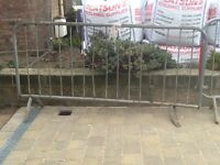3 sections of crash barrier free to a good home