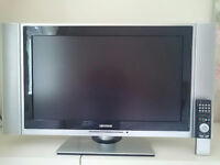 Lexsor 27 inch widescreen TV with remote control - hardly used