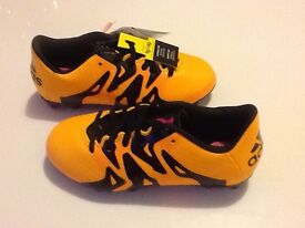 Adidas 15.3 boys football boots new in box size 1
