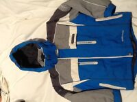Child's Trespass ski jacket and matching trousers, cost £100 new, £25 for both. For age 5/6