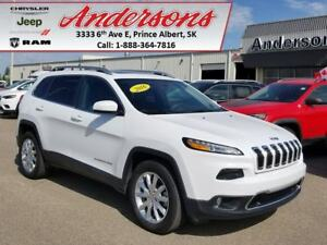 2016 Jeep Cherokee Limited *4X4/Extended Warranty*