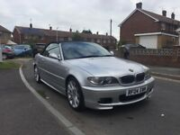 2005 BMW 318CI Convertible M Sport Manual Facelift (Heated Leather, Electric Hood)