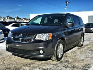 Dodge Grand Caravan Crew Plus 2018 CUIR/NAV