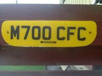 Private reg M700 CFC. For all you Celtic fans.great Xmas. Present