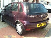 VAUXHALL CORSA AUTOMATIC +5DOOR +FULLY HPI CLEAR REPORT +LOG MOT +GENUINE MILEAGES +