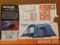 VANGO ASANTE SIGNATURE 500 TENT