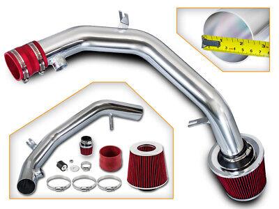 99-04 VW Golf Jetta 2.8 VR6 Polished Cold Air Intake Kit +RED Filter comprar usado  Enviando para Brazil